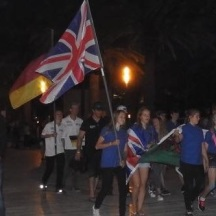 Flag bearer for GB worlds '17